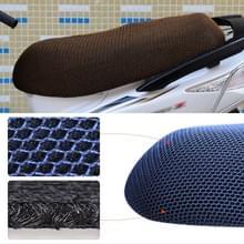 Waterdichte motor zonwering Warmteisolatie Stoelbekleding voorkomt koesteren in stoel scooter kussen te beschermen  grootte: XXL  lengte: 86-92cm; Breedte: 40-56cm(Zwart goud)