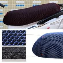Waterdichte motor zonwering Warmteisolatie Stoelbekleding voorkomt koesteren in stoel scooter kussen te beschermen  grootte: XXL  lengte: 86-92cm; Breedte: 40-56cm (Zwart Rood)