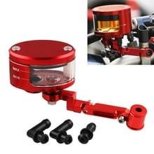 Motorfiets Modificatie Onderdelen Front Brake Fluid Oil Universal Brake Oil Cup voor Kawasaki / Suzuki (Rood)