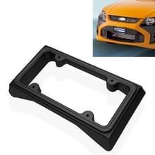 Auto auto voorbumper Guard anti-botsing EVA nummerplaat frame tag cover Protector nummerplaat frame