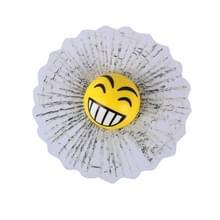 Creatieve 3D Deco grappige Smile gezicht venster Crack Decal autoklever met VL
