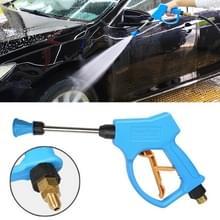 Hoge druk Hoornvorm mondstuk duidelijk water pistool voor Self-service auto wasmachine  buitendraad: 18 x 1 5