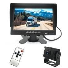 PZ612-AHD IP67 120 graden auto AHD 1080P 2 Megapixels 7 inch 1-weg achteruitkijkspiegel monitor  nachtzicht Full Color