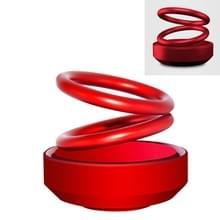 Auto spiraal aromatherapie decoratie auto ornamenten (rood)