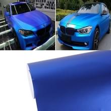 7.5 m * 0.5 m Ice Metallic matte ijzige Ice car decal wrap auto Wrapping voertuig sticker motorfiets blad tint vinyl luchtbel (donkerblauw)