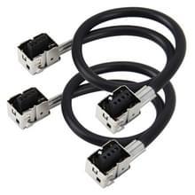 2 stk universeel D3 HID Xenon lamp Converter Adapter D3 kabeladapter HID Socket Plug Adapter lamp draad Connector draad voor Ballast verborg