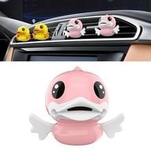 Schattig Duck patroon auto aromatherapie luchtverfrisser (roze)