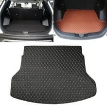 Auto trunk mat achterste vak Lingge mat voor Nissan X-Trail 2014 (zwart)