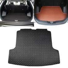 Auto trunk mat achterste vak Carbon Fiber mat voor Nissan Teana 2019 (zwart)