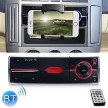 SU-20178 universele auto radio-ontvanger MP3-speler  ondersteuning FM & Bluetooth met afstandsbediening (zwart)