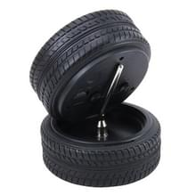 Batterij aangedreven Plastic wiel Tire remklauw vormige bureau wekker  grootte: 10.5 * 4.5 cm