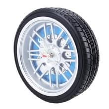 Batterij aangedreven Plastic wiel Tire remklauw vormige bureau wekker  grootte: 26 * 7 2 cm