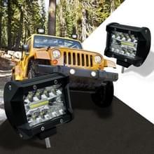 4 inch 60W 2100LM LED Strip Lamp werkt Refit Off-road voertuig licht dak Strip licht