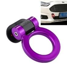 Auto Truck Bumper ronde Tow haak Ring zelfklevend sticker Sticker exterieur decoratie (paars)