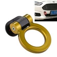 Auto Truck Bumper ronde Tow haak Ring zelfklevend sticker Sticker exterieur decoratie (geel)