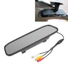 PZ-705 4.3 inch TFT LCD auto achteruitkijkspiegel Monitor voor auto Rearview Parking Video Systems