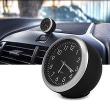 Auto lichtgevende Quartz Watch (Zwart)