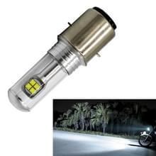 Motor koplampen 750LM 6000K wit H6/BA20D 40W 8-LED lampen  DC 12-24V