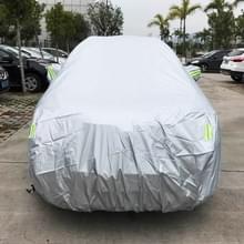 PVC anti-stof Sunproof SUV auto cover met waarschuwings stroken  geschikt voor Auto's tot 4 7 m (183 inch) in lengte