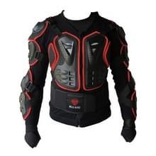 SULAITE BA-03 SUV Motor Fiets Outdoor Sport armor beschermende jas  grootte: M(Rood)