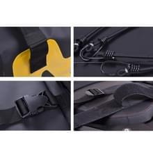 CUCYMA WB-1601 motorfiets waterdichte tas reizen kant zadeltas (zwart)