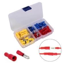 60 in 1 gemengde koude pers elektrische geïsoleerde terminals Bullet Solderless Crimp connectors Kit