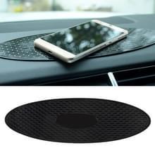 Auto Auto ovale zachte rubberen Dashboard antislip Pad Mat voor telefoon / GPS / MP4 / MP3  grootte: 30 * 9.5 cm