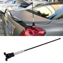 PS-411 Universal Car Auto gemodificeerde decoratie Extensile antenne glas-Mount cellulaire antenne (zwart)