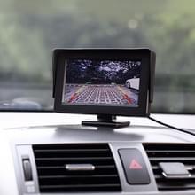 Universele 4.3-inch High Definition-Monitor auto met instelbare hoek houder  Reverse automatische scherm supportfunctie