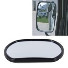 3R-025 truck Blind Spot achteraanzicht groothoek spiegel  grootte: 14cm × 10.5 cm (zwart)