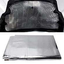 Auto Hood motor lawaai isolatie katoen warmte waterdicht Self Adhesive auto warmte geluid isolatie katoen  grootte: 1 m x 1.4 m x 5 mm