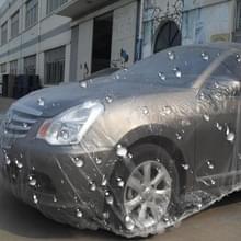 Outdoor universele waterdichte anti-stof Sunproof 3-compartiment Sedan afvoer PE auto cover  past Auto's tot 6 6 m (257 inch) in lengte