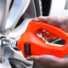 Auto Auto 100W 340N * M elektrische Impact sleutelmaat met twee Fuse buizen twee Sockets voor 17-19mm en 21-23mm(Orange)