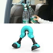 Autostoel Terug handige haken zakken Hanger Houder (Blauw)