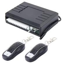 XH-310 auto Auto universele sleutelloze vergrendeling beveiligingssysteem met twee afstandsbediening