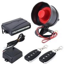 Auto veiligheid waarschuwing alarmsysteem met twee afstandsbedieningen  DC 12V