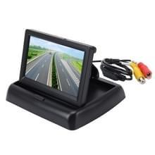 Opvouwbare 4.3 inch digitale TFT LCD auto High Definition-Monitor  Reverse automatische scherm supportfunctie