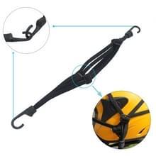Motorfiets elastische vast helm touw met 2 haken  lengte: 60cm