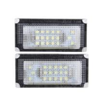 2 PC's License Plate licht met 18 SMD-3528 lampen voor BMW Mini COOPER R50/R52/R53(White Light)