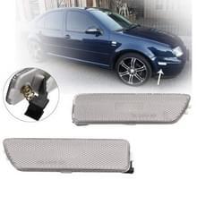 2 PC's Front Bumper Clearance licht behuizing zonder vervanging van de lamp 1JM945071 / 1JM945072 voor VW Golf / Jetta 1999-2005) (grijs)