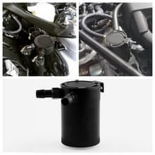 Auto universele compacte verbijsterd Oil Catch Can 2-Port(Black)