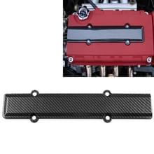 ABS Carbon Fiber look ventiel deksel bougie insert voor Honda