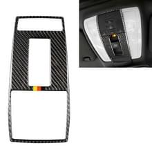 Auto Duitse vlag Carbon Fiber lezing lamp frame decoratieve sticker voor Mercedes-Benz W204 2007-2013/W212 2010-2012