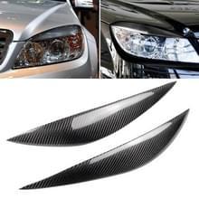 Auto Carbon Fiber Light wenkbrauw voor Mercedes-Benz C-klasse