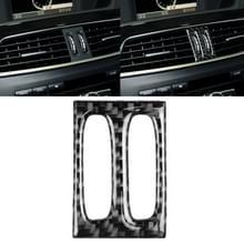 Auto koolstofvezel tussenliggende luchtuitlaat panel decoratieve sticker voor Mercedes-Benz W204 2011-2013