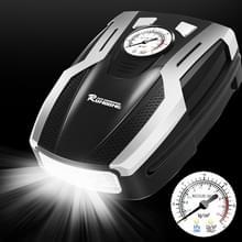 RUNDONG AUTO accessoires 12V protable auto elektrische Tire Pump luchtpomp Tire Inflator  pointer versie (zilver)