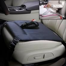 Autoveiligheidszitje beschermende pad met clip terug buik gordel voor zwangere vrouw (grijs)