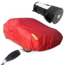 Zonnebrandcrème geïsoleerde Regenbestendige intelligente automatische afstandsbediening auto cover (rood)