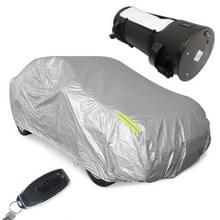 Zonnebrandcrème geïsoleerde regenbestendige intelligente automatische afstandsbediening autohoes (zilver)