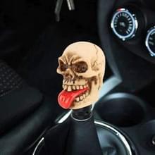 Universele auto schedel vorm shifter handmatige automatische versnelling Shift knop